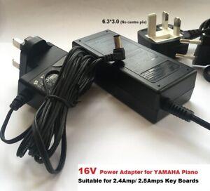 16V for Yamaha PSR-S770 S775 S900 S910 S950 S970 S975, 6.3Tip