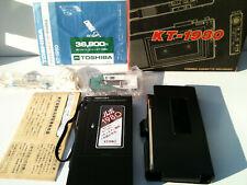 Toshiba KT-1980 Cassette Recorder Walkman NEW !NEU in Box accesories METAL Body