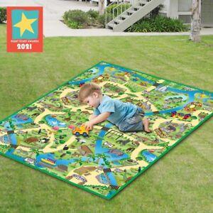 Eduk8 Zoo Play Mat 120X100cm - Kids Children's Sensory Educational Toys Games