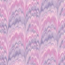 Papel pintado Rasch Tintura Lazo Efecto Onda Funky/Retro Morado Y Rosa 216516