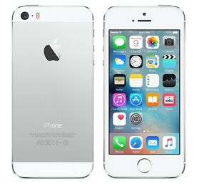 """Apple iPhone 5S- 16 32 64GB GSM """"Factory Unlocked""""  Gold Gray Silver  Very Good"""