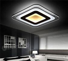 Square Shape Acrylic LED Ceiling Lighting Living Room Lights Pendant Lamp Mount