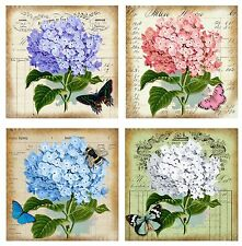 Stunning Hydrangea ~ Chic Card Making Toppers / Scrapbooking / Crafting