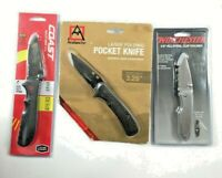 Coast Winchester And Avalanche A Lot Of 3 Folding Knives