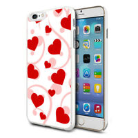 Premium Design Hard Case Cover for Various Mobiles - Mini Hearts