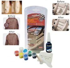 Soluzione di riparazione per pelle bianca e vinile senza