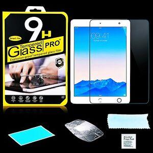 für Apple iPad Air 1 Air 2 Panzerfolie Displayglas Schutzglas Echt Glas Folie 9H
