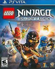 LEGO Ninjago: Shadow of Ronin (Sony PlayStation Vita, 2015) NEW, sealed