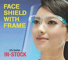 FACE SHIELD CLEAR VISOR TRANSPARENT SAFETY WORK WALK SUPPLIES MASK