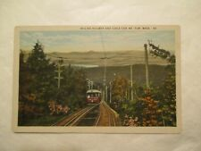 Mt Tom Massachusetts incline railway and Cable car MA Postcard