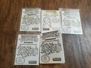 Teenage Mutant Ninja Turtles National Turtle Quiz Jokebook Playmates 31 32 33 35