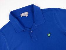 z3301 Lyle&Scott Polo T-shirt Original Premium basique bleu taille L