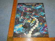 1980 Stern STAR GAZER Pinball Advertising Flyer