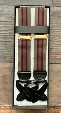 Perry Ellis Portfolio Adjustable Suspenders Braces
