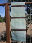 """Tierra wools New Mexico 100%Wool Hand Woven wall hanging 51""""x16"""" or table runner"""
