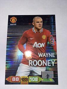 Panini Adrenalyn Xl Champions League 2011/2012 ROONEY MAN U TOP MASTER Card