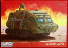 UFO - SHADO MOBILE - SKETCH Card by DAVID DAY