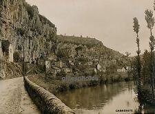 CABRERETS c. 1930 - Vue Générale Lot - Ph. Auclair Chemins de Fer - 24