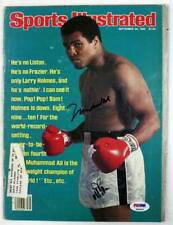 Muhammad Ali Boxing Authentic Signed Sports Illustrated 1980 PSA/DNA #P00905