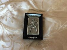 ZIPPO LIGHTER NINJA 3D EMBLEM NEW WITH BOX STUNNING QUALITY