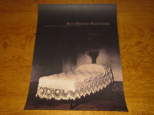 RED HOUSE PAINTERS - ORIGINAL UK 4AD PROMO POSTER - NEAR MINT!!