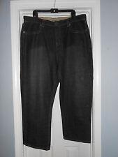 Mens ED HARDY Jeans Vintage Tattoo Wear Row 42 Seat 34 Big & Tall