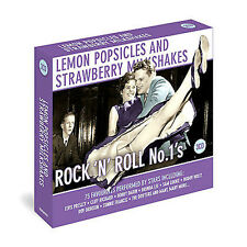 Lemon Popsicles Rock N Roll Number Ones NEW 3CD 75 Greatest Hits / Best of 50's