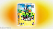 Plants vs Zombies Game Of The Year First Limited Edition PC MAC w/ Figure NEW
