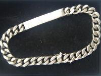 Armband für Namen-Gravur 925er  Silber Silberschmuck