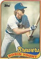Lot Of 55 1989 Topps Baseball Robin Yount Card # 615