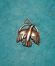 Pendant Bird Charm Wings Charm Feathers Flying Animal Charm Audubon Bird Watcher