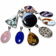 Whole Sale Lot Fashion Jewelry Ss-257 Multi Gemstone Ethnic 9 