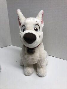 "Disney Store Exclusive Bolt White Puppy Dog 12"" Plush German Shepherd ADORABLE"
