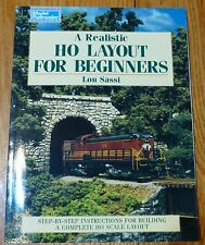 How to Book: #12141 HO Layout for Beginners (We Combine Ship your Books)