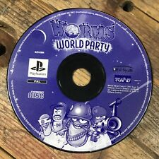 Worms: World Party (Sony Playstation 1) Rare Retro Gaming *DISC ONLY*