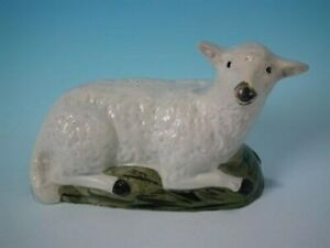 Staffordshire Pearlware sheep figure
