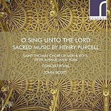 Purcell / Teardo / S - O Sing Unto The Lord: Sacred Music By Henry Purcel [New C