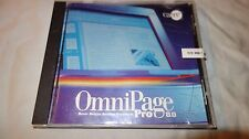 OmniPage 8 Pro PC CD converts paper business documents OCR scanner image tools!
