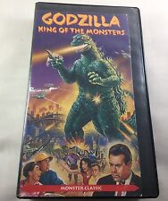 VHS. Godzilla King of the Monsters. Moster Classic.