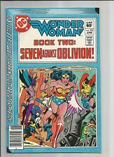 Wonder Woman 292 Vf+ Very Fine+ White Pages Dc Bronze Age Comic 1982