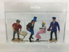 G Gauge-LGB Seated & Standing Figures Lot of 4 OB NEW