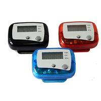 LCD Digital Multi Pedometer 3D Sensor Walking Step Distance Calorie Counter