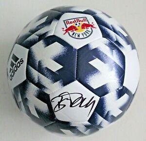 Bradley Wright Phillips New York Red Bulls Signed Soccer Ball w/COA MLS Size 5 A