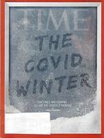 TIME MAGAZINE NOVEMBER 30TH/DEC 2 2020  A VERY ----WINTER