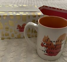 C.R. GIBSON 16 OZ SISSY SIPS SQUIRREL COFFEE MUG GIFT BOX MICROWAVE DWSHR SAFE