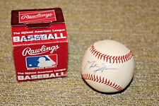 Scott Cooper Cardinals Red Sox Royals Signed Rawlings Vintage Off Nl Baseball Sports Mem, Cards & Fan Shop