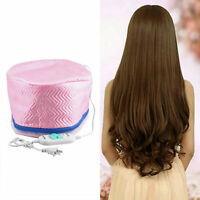 Electric Hair Thermal Treatment Beauty Steamer SPA Nourishing Hair Care Cap 7@