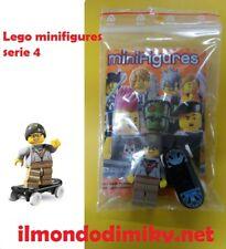 Lego Minifigures serie 4 SKATER DI STRADA_STREET SKATER  - nuovo