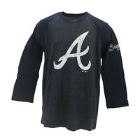 Atlanta Braves Official MLB Majestic Kids Youth Size Long Sleeve Shirt New Tags