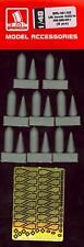 Brengun Models 1/48 U.S. AN-M64A1 500lb BOMBS (8) Resin & Photo Etch Set